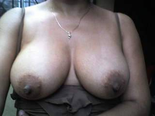 my hanging tits