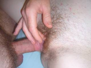 I Love Cumming over a NICE COCK when it\'s Fucking Me, so then I can slip it out of My Cum drenched Pussy and Lick all the Cum off it...Wanna Try??