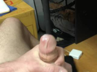 Cumming in slo mo but my cock was soft!