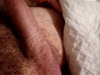 Who wants to play with my hubby's fat cock? I am please to share it if I can watch!