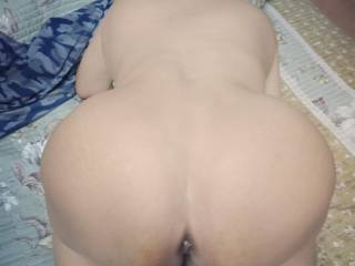 Waiting cock for doggy fuck
