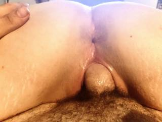 Hubby lays back and watches me take his cock balls deep into my throat, leaving my pussy dripping wet. After a good throat fucking I climb on top and let him watch my pussy filled with his cock until he explodes inside me