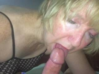 Since everyone was so kind about liking to watch me with a cock in my mouth I decided to post a lot of pictures and videos doing what I like best. They won't be all the same cock but they will all be me sucking and licking and sniffing and kissing dicks