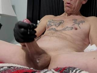 I get so turned on knowing a woman us enjoying watching me Stroke my Cock and Cumming!!