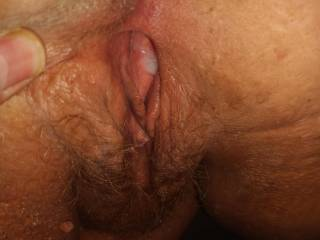 Filled up with hot cum