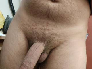 fat and curved.  what do you think of my curved cock?