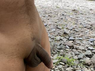 Quick cock shot by the river, a bit shy but I'll get him rattled up hang on.......