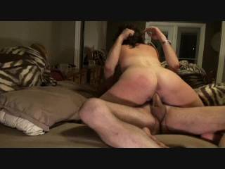 An older video but I start off sucking his beautiful cock 69ing and then jump on top and ride it before he rolls me over lubes me and blows in my ass...it was amazing....let us know if you like this type of video????