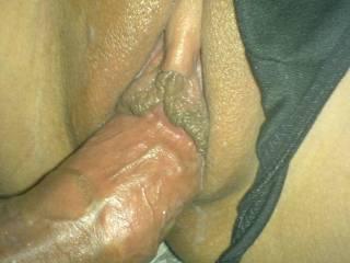 wow black panties cock in pussy me wankinggg