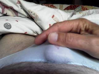 Yes, cumming in panties is so much fun and feels so good.  I do this all the time.