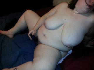 Hubby and I need to fuck her after she gets herself off sometime...Let's just pull that toy out and replace it with our cocks!