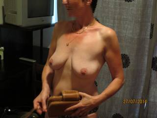 the breasts of my wife