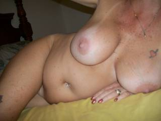 mmm love to love on her sweet sexy body then go in all 3 of her juicy hot holes   :)