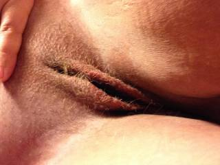 My thick cock would love to spread those lips open!