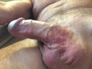 Doing my Kegel exercises with a flaccid penis--anybody want to help me get hard?  From Mr. Floridaman