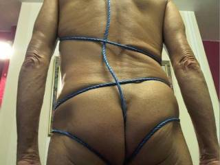 Unable to get to the phone as I\'m all tied-up !
