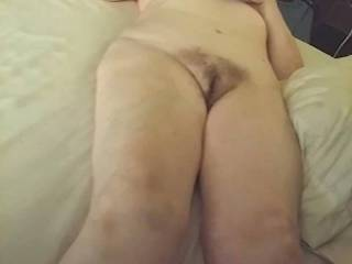 Hairy old granny wife loves getting naked and showing herself off totally nude! Hope you enjoy seeing her hairy cunt up close and personal..