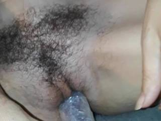 I was so in the mood for a good tongue lashing and dildo play with the support from my benefits friend. Part 1