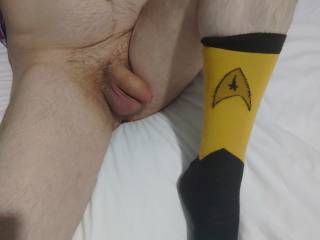 Captain hornycock - Stardate January 21,  2323, layingo n my bed on the starship Hornyfuckers, with a ship full of zoig members that are horny as fuck are we ever going to leave spacecock :)