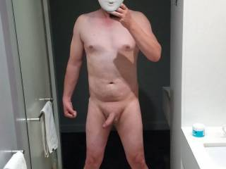 Feeling more, and more naughty I took the 2nd totally nude pic
