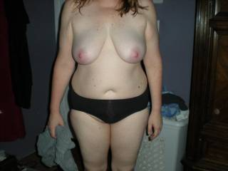 My wife sexy body in full !