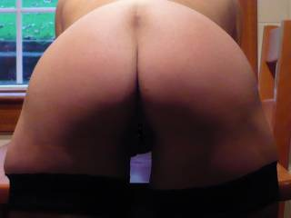 Bent over waiting for you to fuck me on the table....mmmmmmm!!