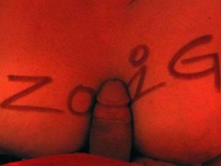 hubby\'s cock in ZOIG! tits