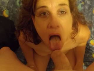 love to drop a load all over her face as you drop one on my mrs face