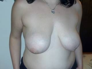 Those beauties need a man's hands holding them and his mouth on your nipples...do you want check-out what mine would feel like?  ;-)