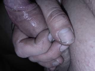 my fully erected little dick