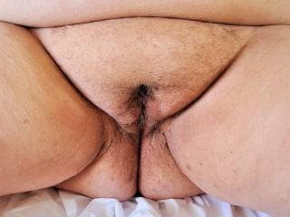 Who would like thier cock in this fat hairy cunt? ...We would love to see pictures of your cock cumming on this!