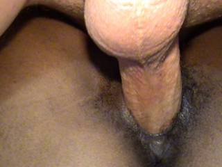 Fucking the hell out of Alyssa;s tight black pussy