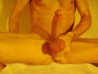 that's a beautiful cock! it would choke me so bad... i'd love to squeeze your balls for you, pull them, and suck on them. would you like that?