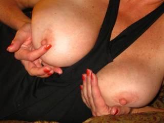 I love having my nipples sucked.