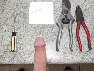 which house hold tool should i use maybe the one holding the camera