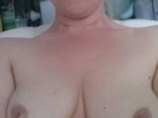 mmm beautiful  tits  love to suck them