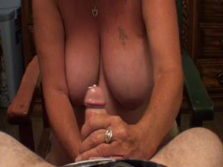 Part one of three of me giving boyfriend a hand job that ends with cumshot, Part one has his dick stuffed with a penis plug, was a bitch to get the glans ring onto that fat cock, Do you want to see the other 2 parts?