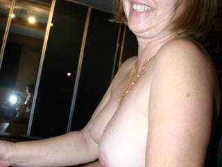 NICE Nipples and Tits - Please sit on my hard throbbing cock facing me so I can suck your lovely nipples and tits at the same time, until we both explode and end up very sated, wet and sticky