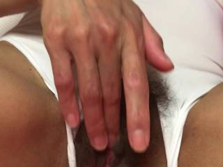Me online with a Zoig member, me playing my end, him rubbing his very large dick and cumming