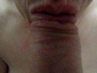 Hi all I really enjoyed this tasting hubbies cock then spraying his cum all over my tits, hot cum is so good for the skin I will have to do this more often. dirty comments always welcome mature couple