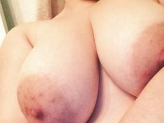 Wife\'s big soft tits
