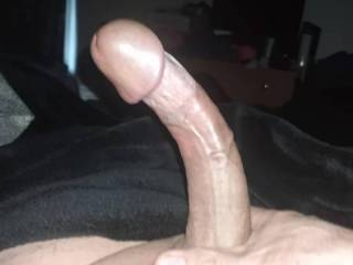 Playing with my dick in the early morning hours