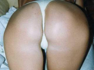 OMG!!! You the sweetest ass!!  May I lick you from behind till your cum dribbles down your inner thighs first? Then clean you up with my tongue before sliding my throbbing cock bollock deep inside you? Then fuck you to orgasm again as we watch in the mirror? Xxxxx