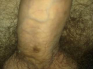 Stay like this and let me suck your balls while wanking slowly your big dick... i want to feel your cum blast deep in my mouth...