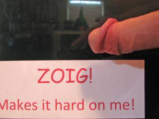 Heads up for Zoig.