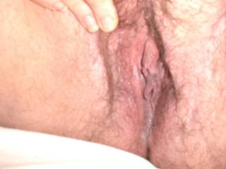 Oh yes... I bet that wet, hot pussy would feel really good wrapped around my hard, young cock ;)