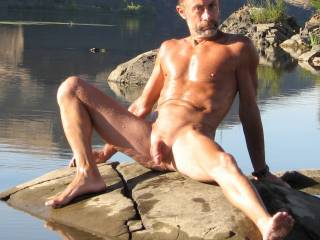 Thanks,,,just waiting for a sexy lady like you to enjoy the outdoors with,,,,,mmm  my pleasure making you wet for sure,,,,,,as you always make me hard enjoying you,,,,smile