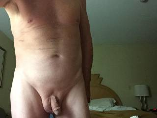 looks like you want a tit to tit cock to cock and hands on ass hug