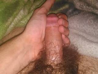 My cock is hard it's ready for a nice wet tight pussy to go in.