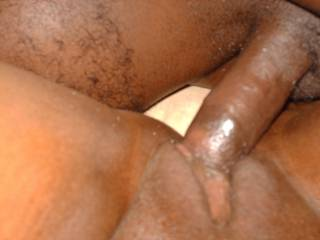Putting the long, black dick to a a good use